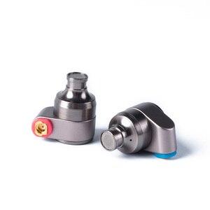 Image 4 - AK 2017 Tin Audio T2/T2 PRO w ucho słuchawki podwójne dynamiczny napęd HIFI słuchawki basowe DJ metalowe słuchawki zestaw słuchawkowy wtyk cyny T3