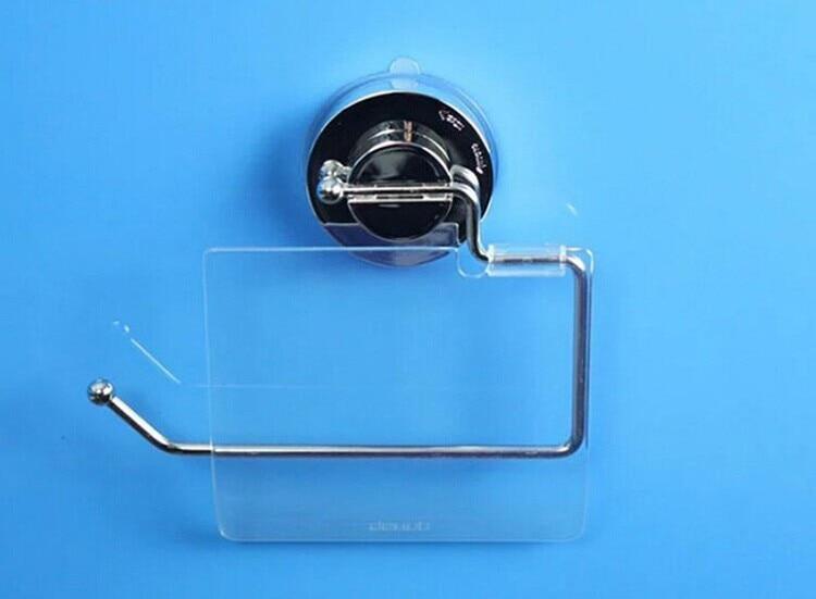 Sucker Toiletpapirholdere Toiletpapirholder Fleksibel Med Cover Til - Husholdningsvarer - Foto 4