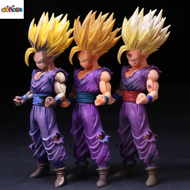 Toys & Hobbies Pvc Action Figure Dbz Chocolate Collection 23cm New Dragon Ball Z Son Goku Super Saiyan 4 Chest Floating Standing Ver