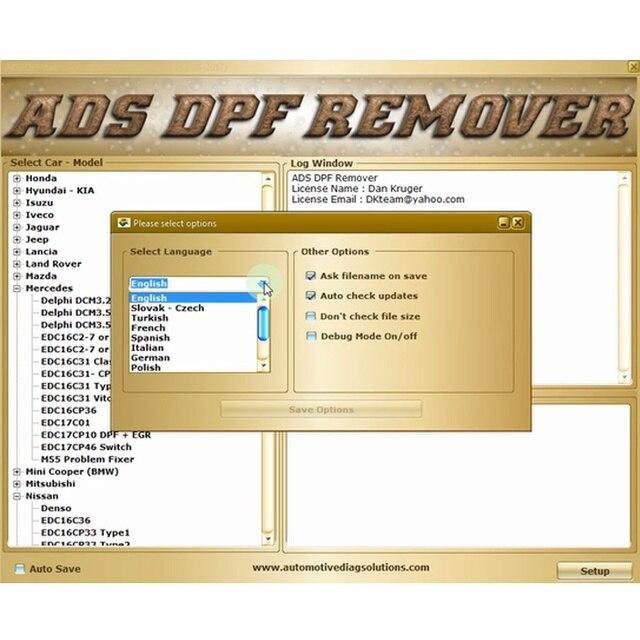 Eliminador de DPF EGR profesional, 3,0 removedor de Lambda, Software de versión completa 2017,5, keygen de desbloqueo y guía de vídeo