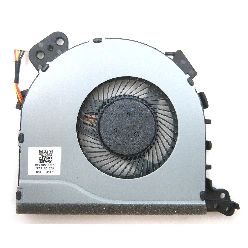 New Lenovo Ideapad 320-15ABR 320-15AST 320-15IAP 320-17IKB CPU Fan DC28000DBF0