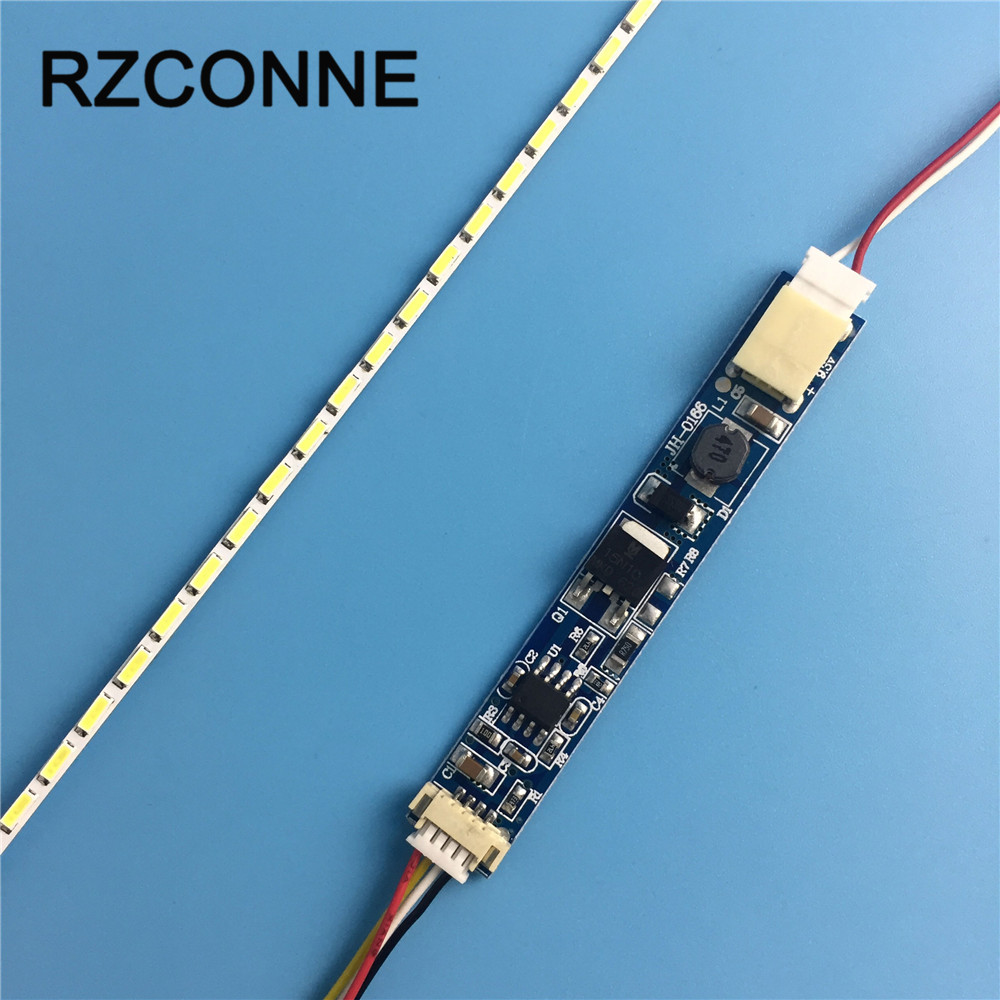 10 Inch Wide 227x2.0mm LCD Laptop Dimable LED Backlight Lamps Adjustable Update Kit Strip+Board 9-25V Input 2sets