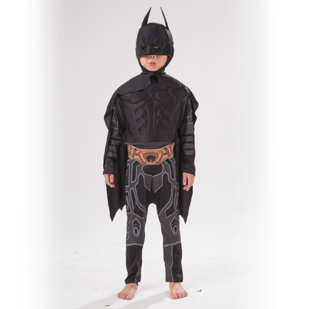 Digital printing EVA material Black Batman muscle cosplay party clothing Fantasy Comic Movie Carnival Party Purim Halloween