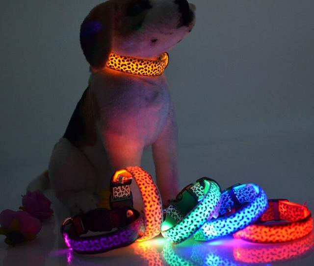 Night Safety LED Glow Dog Harness
