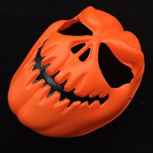 2016 Hot Sale Scary Pumpkin Face Halloween Masquerade Mime Mask Ball Party Costume Masks Free Shipping
