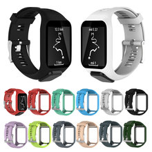 Smart Watch Silicone Strap Band for TOMTOM Runner 2 3 Spark 3 Adventurer GPS Watch Colorful Replacement Wrist Band Strap Ring