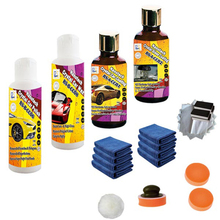 scratch repair car polish paste and  nano ceramic  car coating plus hydrophobic nano glass coating and fast car wax paste