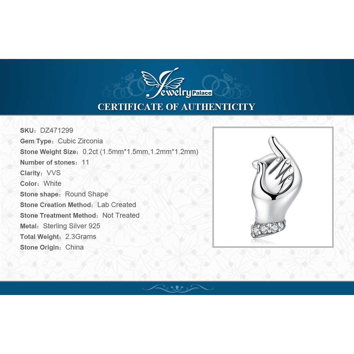 Jewelrypalace família mãos 925 prata esterlina contas encantos prata 925 original para pulseira de prata 925 original jóias fazendo