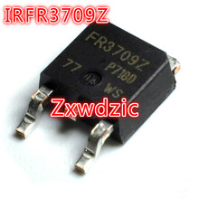 10PCS IRFR3709Z  IRFR3709 TO252 FR3709Z IRFR3709ZTRPBF SMD 50pcs lot ceu3055l 3055l to252
