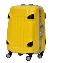 KUNDUI 20 24 28 inch ABS+PC Trolley suitcase /rolling spinner wheels Pull Rod luggage/Women Girl traveller case boarding bag