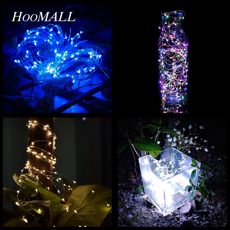 New Fashion Hoomall 20-100 Lamps 2m-10m Aa Battery Powered Led Lights String Festival New Year Party Home Decoration Waterproof Fairy Lights Vivid And Great In Style Home & Garden Festive & Party Supplies
