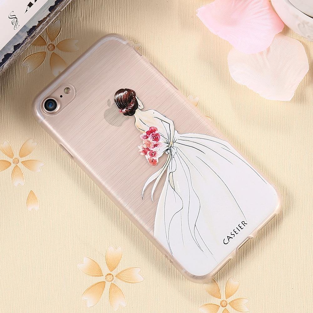 CASEIER Հեռախոսի պատյան iPhone 8 8 Plus 7 7 Plus Cover - Բջջային հեռախոսի պարագաներ և պահեստամասեր - Լուսանկար 6