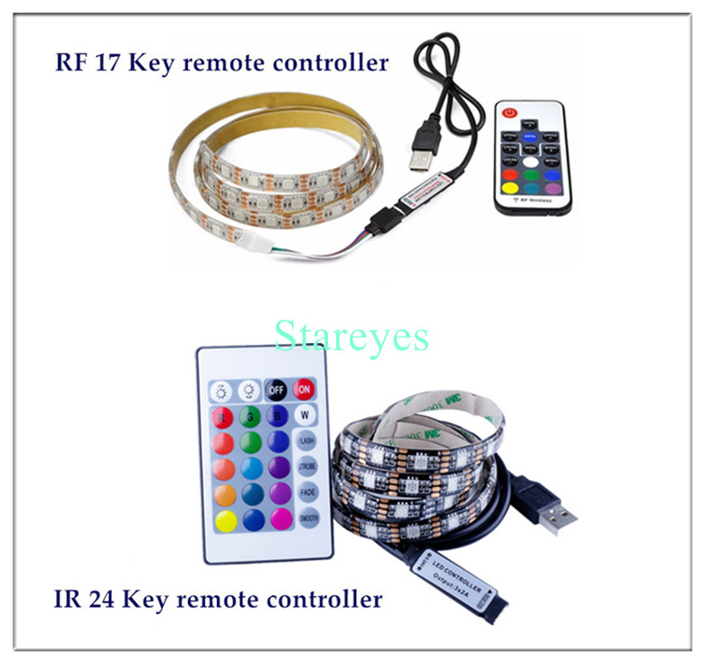 HTB1X5.PacyYBuNkSnfoq6AWgVXaL SMD 5050 RGB LED Strip DC 5V USB LED Light Strips Flexible IP20 IP65 Waterproof Tape 1M 2M 3M 4M 5M add Remote For TV Background