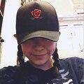 2016 Новый цветок розы вышивка бейсболка цветочные кости snapback открытый вс гольф hat casquette gorras шапка для женщин мужчин