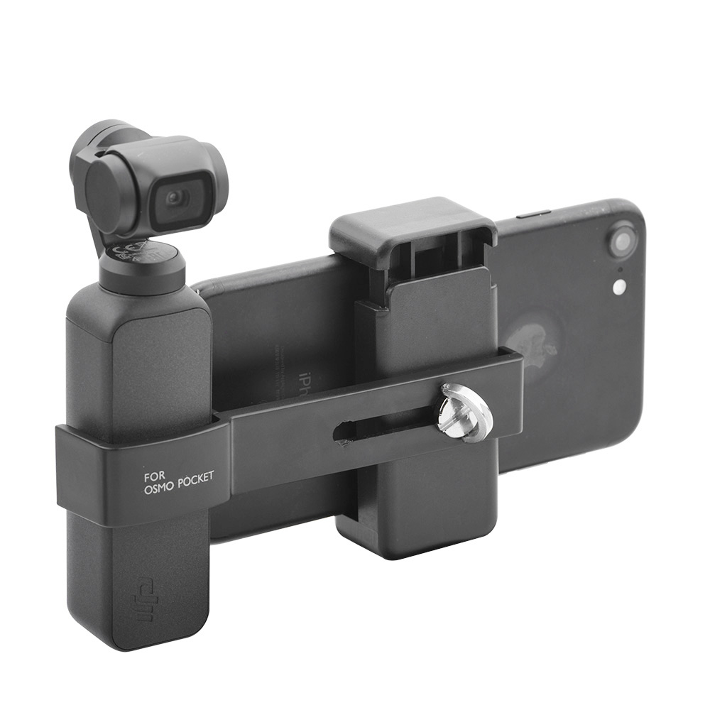 Smart Phone Mount DJI OSMO Pocket Handheld Gimbal Stabilizer Phone Connector Adapter 1/4 inch interface Spare Parts AccessorySmart Phone Mount DJI OSMO Pocket Handheld Gimbal Stabilizer Phone Connector Adapter 1/4 inch interface Spare Parts Accessory