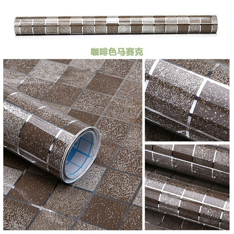 HTB1X5.dNpXXXXa1XVXXq6xXFXXX4 - Waterproof Mosaic Aluminum Foil Self-adhesive Anti Oil Kitchen Wallpaper