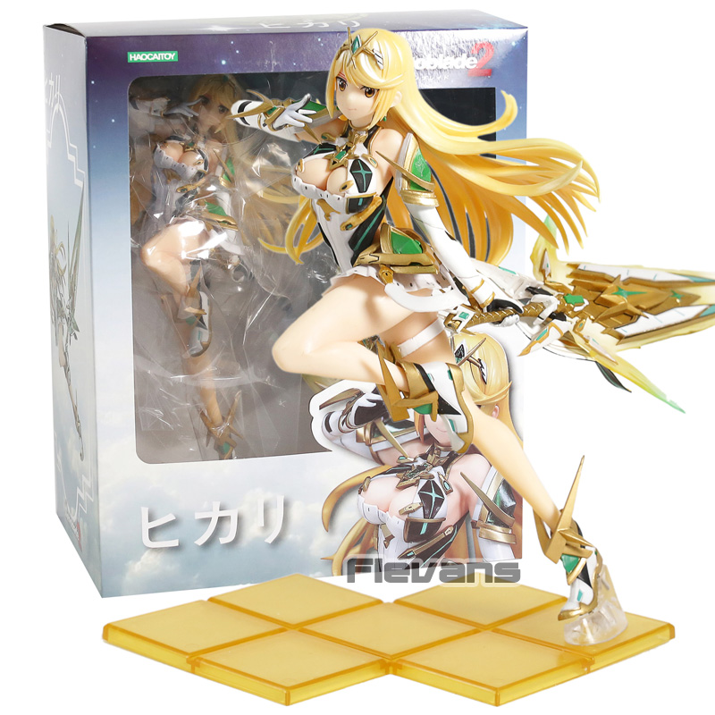 Xenoblade Chronicles 2 Mythra Hikari PVC Figure Collectible Model ToyXenoblade Chronicles 2 Mythra Hikari PVC Figure Collectible Model Toy