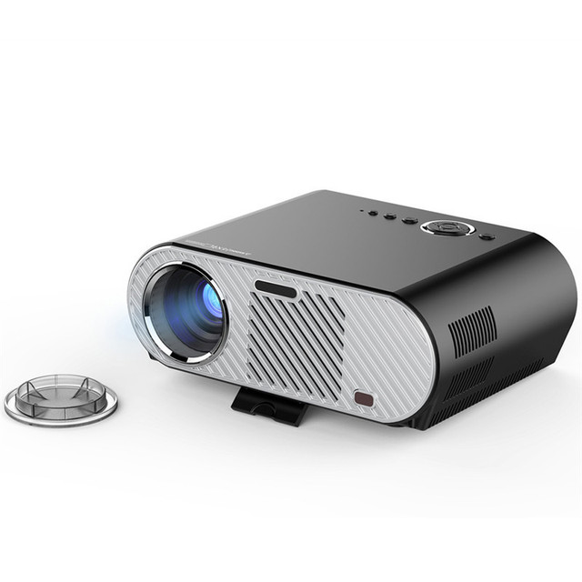 Newest LED Projectore Mini Projector 1080p with Infrared Remote Control for Private Home Theater Business Conference Teaching