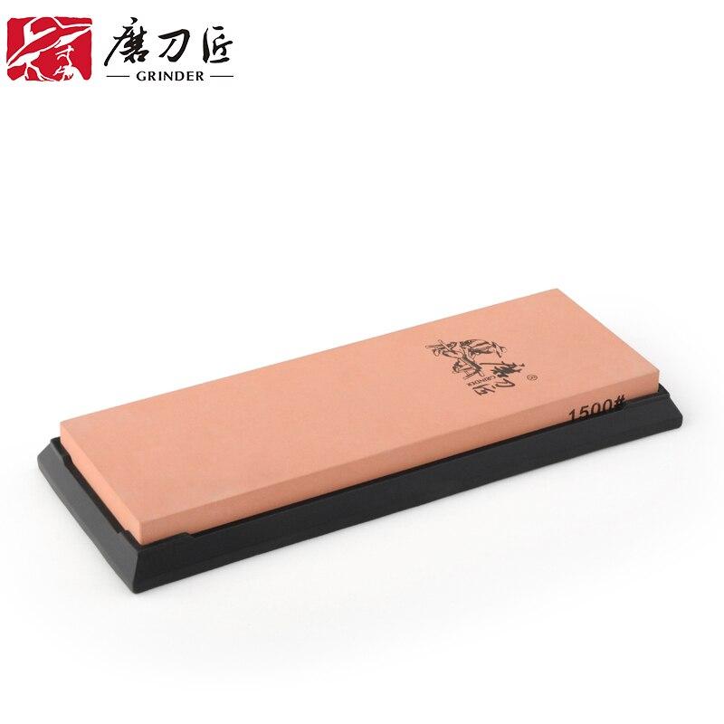 GRINDER Jednostranný 1500gritový brousek Corundum Stone T7150W apex Profesionální brousek na nože brousek na nože