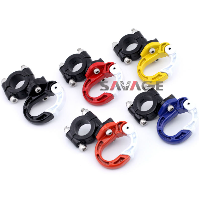 For HONDA XR 250R 1990-2005/XR 400R 1996-2007/XR 650R 2000-2006/XR 650L 1992-2016 Helmet Hang buckle for honda xr 250r 1996 2003 xr 400r 1996 2004 license plate holder mount led lights bracket