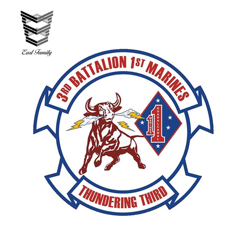 USMC 3rd Battalion 9th Marines Insignia Military Graphics Decal Sticker Car