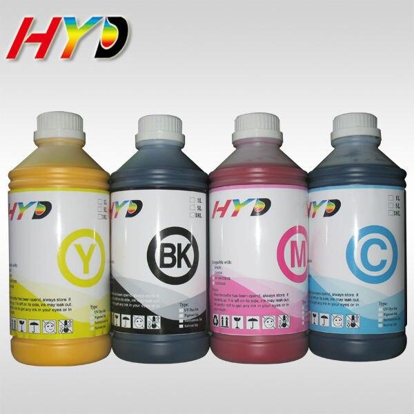 HYD 4x1000ml/bottle dye sublimation ink for Epson stylus pro 7400 7450 9400 9450 inkjet printer