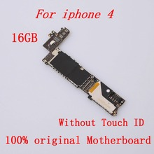 Оригинальная материнская плата для iPhone 4 16GB разблокированная Хорошая рабочая материнская плата 16GB логическая плата