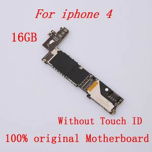 Mainboard iPhone for 4 16GB Unlocked Good-Working 100%Original