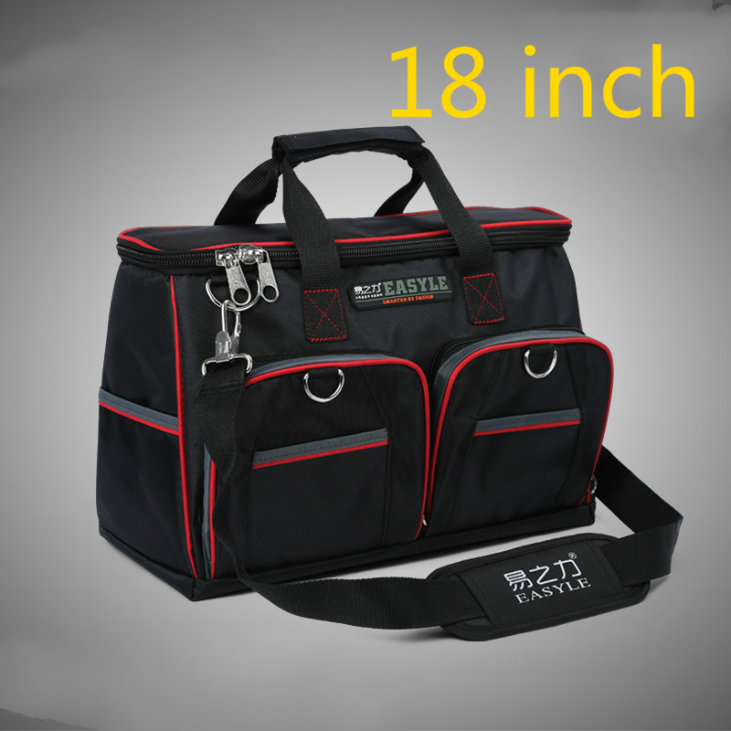 1 Pcs 18 Inch Appliances Electrical Repair Bag After Sales Tool Bag Oxford Cloth Double Canvas Thickening Tool Kit roth after 50 000 miles cloth