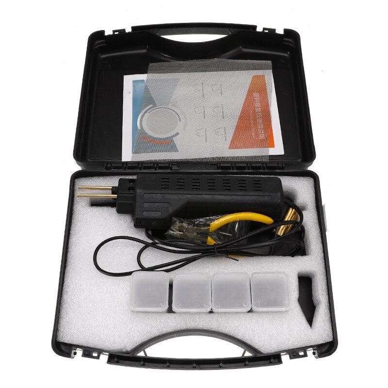 220 250V Hot Stapler Car Bumper Plastic Welding Torch Fairing with 0 6 0 8mm 200