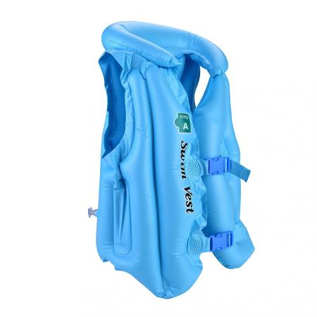 Event & Party Summer Children Inflatable Swimming Life Jacket Buoyancy Safety Jackets Boating Drifting Lifesaving Vest Life Waistcoat 3 Colors Party Diy Decorations