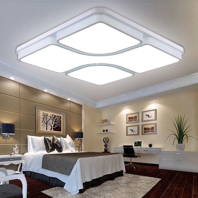 Modernas l mparas de techo led para dormitorio sala de - Lamparas modernas para dormitorio ...