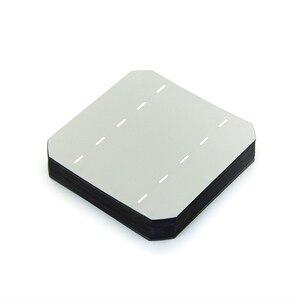 Image 2 - 10 pièces 2.8W 125*125MM pas cher Mono cellules solaires 5x5 Grade A monocristallin silicium PV gaufrette pour bricolage panneau solaire photovoltaïque