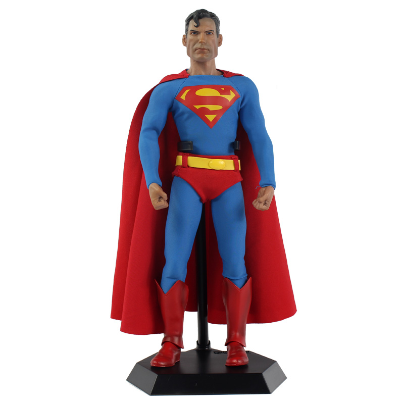 DC Comic Superman 32cm Action Figure Anime Doll Toy Collectible Anime Cartoon Movies Model Toys for Children Gift original box astro boy figure toy anime cartoon astroboy pvc action figure collectible model toy doll children gifts 8 types