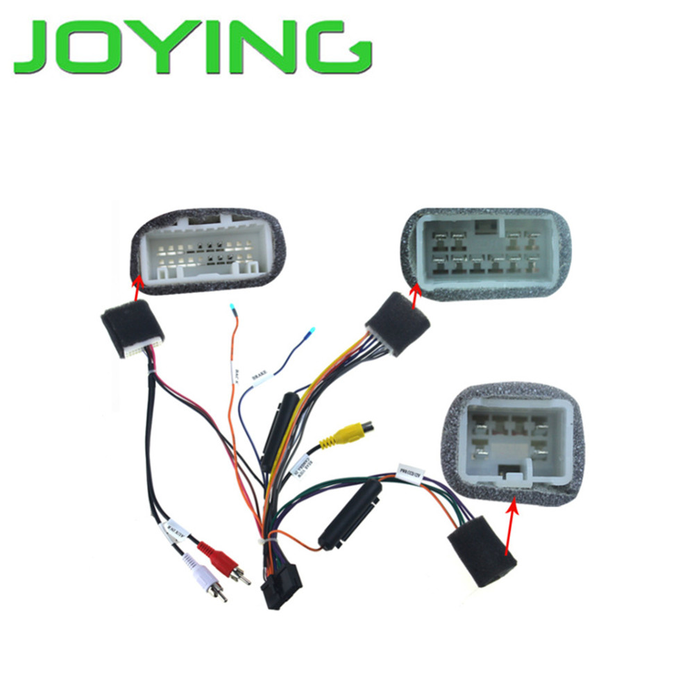 Joying Wiring Harness For Toyota Highlander only for Joying android  device-in Cables, Adapters & Sockets from Automobiles & Motorcycles on  Aliexpress.com ...