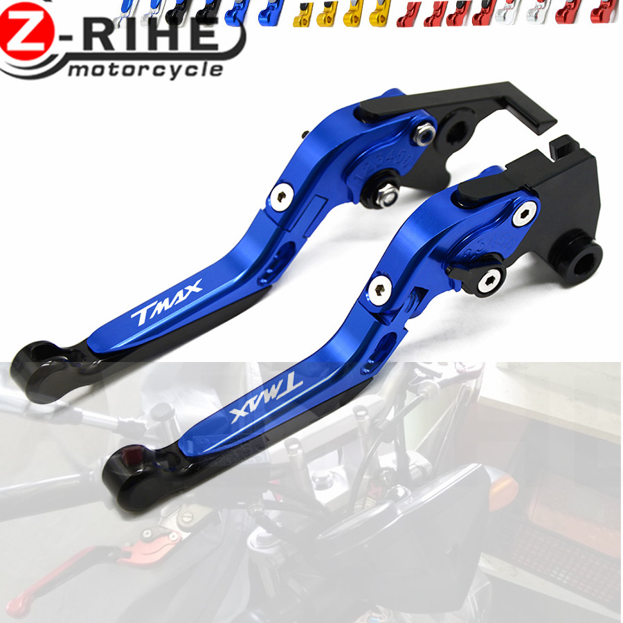 For YAMAHA Motorcycle Accessories Folding Extendable Brake Clutch Levers tmax 500 T MAX 500 2001-2007 2002 2003 2004 2005 2006 cnc motorcycle brakes clutch levers for yamaha xp 500 t max tmax 500 tmax500 2001 2002 2003 2004 2005 2006 2007 free shipping