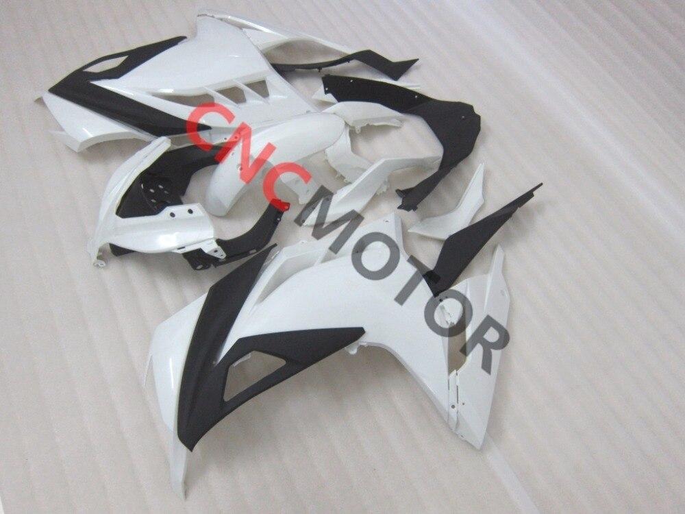 Non peint ABS Moules D'injection Moto Carrosserie Carénage Kit pour Kawasaki NINJA 300 2013-2014