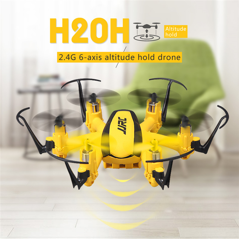 JJRC H20H Gyro RC Hexacopter 2.4G 4 Channel 6-Axle RTF Drone with CF Mode/One Key Return/3D Flip/Altitude Hold VS JJRC H20