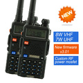 2pcs BAOFENG UV-8HX ham radio Dual Band Radio 136-174Mhz & 400-520Mhz Baofeng UV5R handheld Two Way Radio Walkie talkie