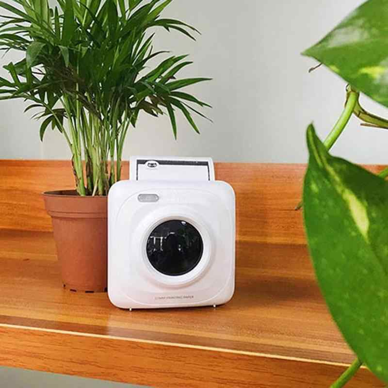 Portable Printer Mini Wireless Bluetooth Portable POS Thermal Picture Photo Printer for Android IOS Mobile Phone