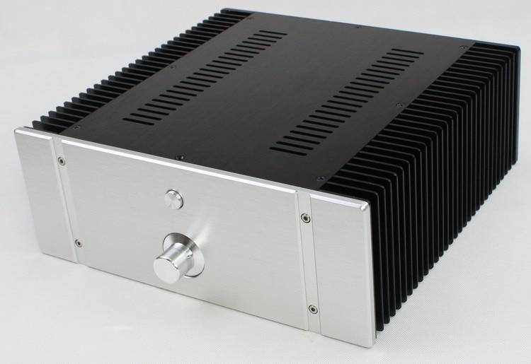 DIY amplifier case 320*120*311mm WA76 all aluminum amplifier chassis / Class A amplifier case / AMP Enclosure / case / DIY box queenway audio 2215 cnc full aluminum amplifier case amp chassis box 221 5mm150mm 311mm 221 5 150 311mm