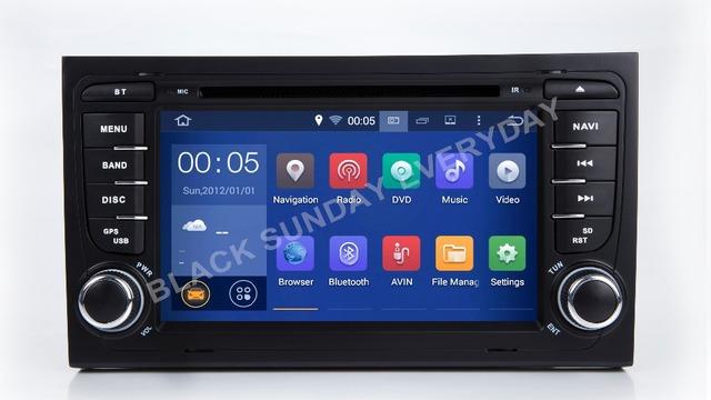 2018 2 din 7'' new hd octa core android 8.0 radio car dvd player for