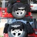 Укладывающая запасная шина многофункциональная сумка для инструментов для кемпинга задний багажник коврик для домашних животных для Jeep ...
