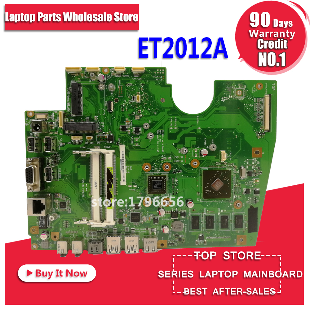 Original All-in-one Motherboard For ASUS ET2012A ET2012 Mainboard 100% Test Ok Works