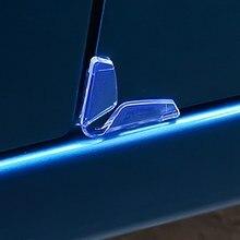 4 sztuk/partia drzwi samochodu krawędzi anty kolizji naklejki drzwi samochodu zarysowania Protector drzwi Anti-Rub paski Car Styling