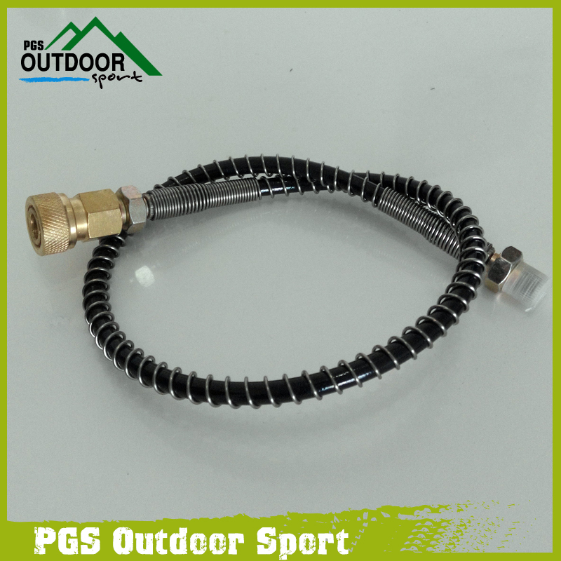 Image 4 - PCP/Auto Hand Pump Hose for Refill 64Mpa/9000PSI with 8mm Quick Connector-in Paintball Accessories from Sports & Entertainment