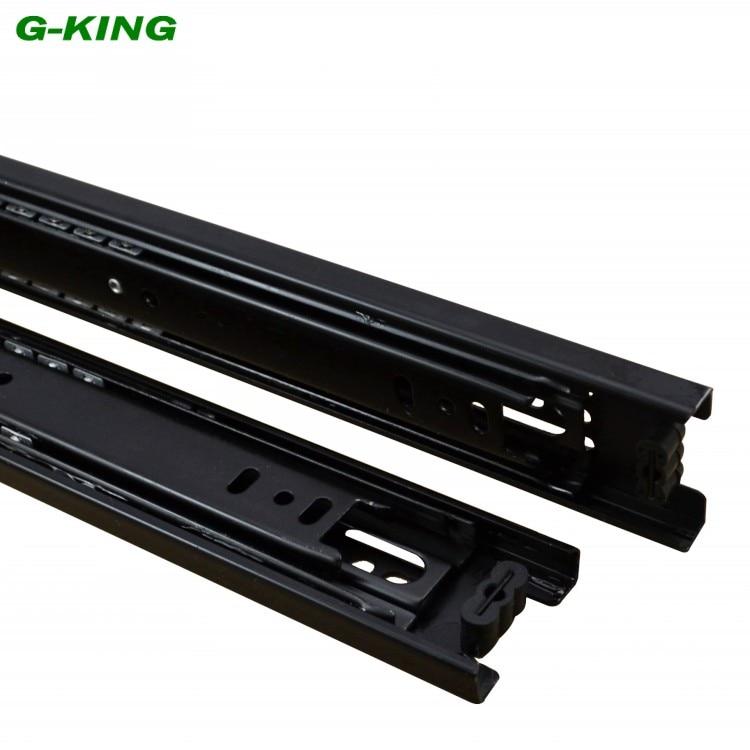 Drawer slide three ball guide rail width 42mm furniture mechanical cabinet guide rail| |   - title=