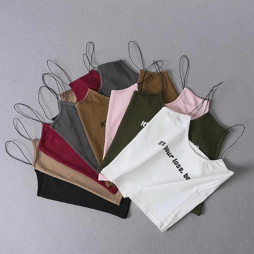 2019 mode Frauen Ärmelloses Top weibliche Weste Backless Halter Tank Tops Bluse shein streetwear haut femme gothic T-Shirt