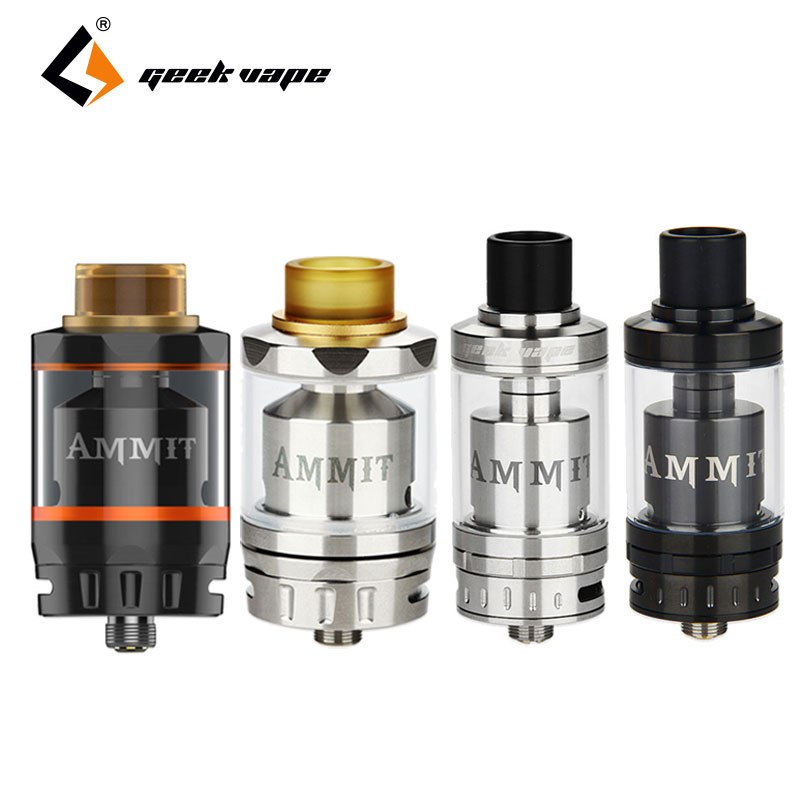 Original Geekvape Ammit RTA Dual Coil Single Coil Build Deck Ammit Rebuildable Tank Electronic Cigarette RDTA
