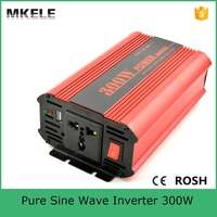 MKP300 242R general purpose pure sine wave micro inverter 24vdc to 230vac inverter 300w power inverter with CE ROHS certificate